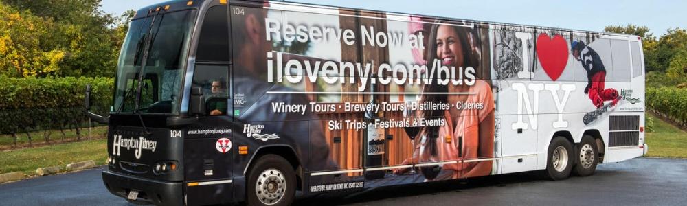 I love new york bus